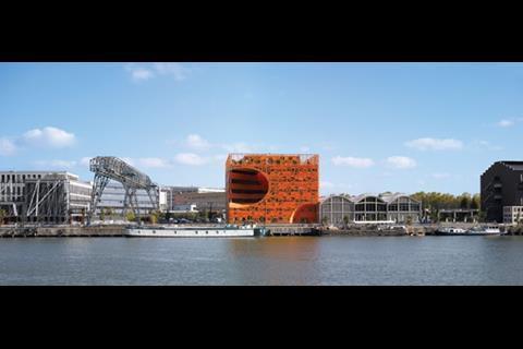 Jakob + Macfarlane's office block makes an unmissable impact on Lyon's riverside